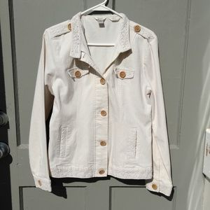 Christopher & Banks button up jacket